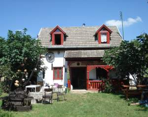 2 story detached hungarian farm house