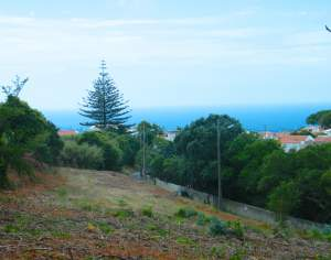 Sintra Sea Side 3560m2 Building Plot With Sea View