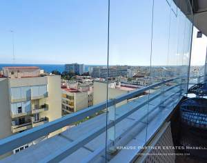 Marbella - Apartment with sea views for sale
