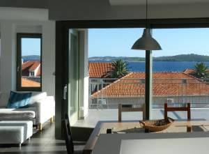 New, bright, panoramic apartment in Dalmatia
